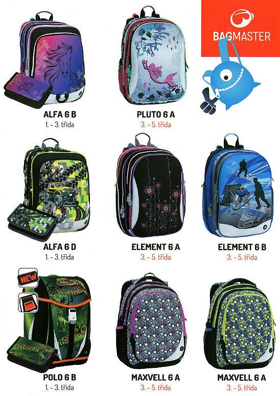 Bohužel dle našich zkušeností nesedí dětem dobře na zádech. Na všechny  batohy kolekce 2016 je 3 roky záruka. Sety pro prvňáčky jsou v nabídce s  penálem 6e32e2496c