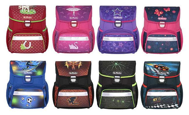 a441bcb0b2 Školské tašky Herlitz LOOP platí o nich to isté ako o aktovkách Smart. Majú  však modernejší tvar. Opäť veľmi pekne sedia na chrbte štandardne veľkým aj  ...