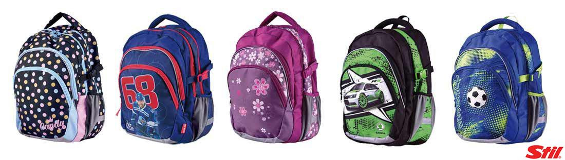 Stil - nová kolekce školních aktovek a batohů  c114b5d44e