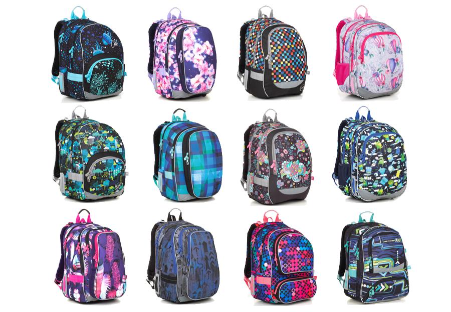 6a7500cac1f Školní batohy Topgal si můžete zakupit samostatně nebo v cenově  zvýhodněných setech SMALL (batoh + penál)