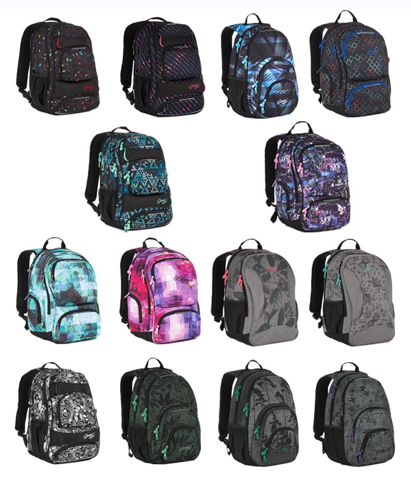 Topgal 2017 - nová kolekce studentských batohů  e8d6d05279