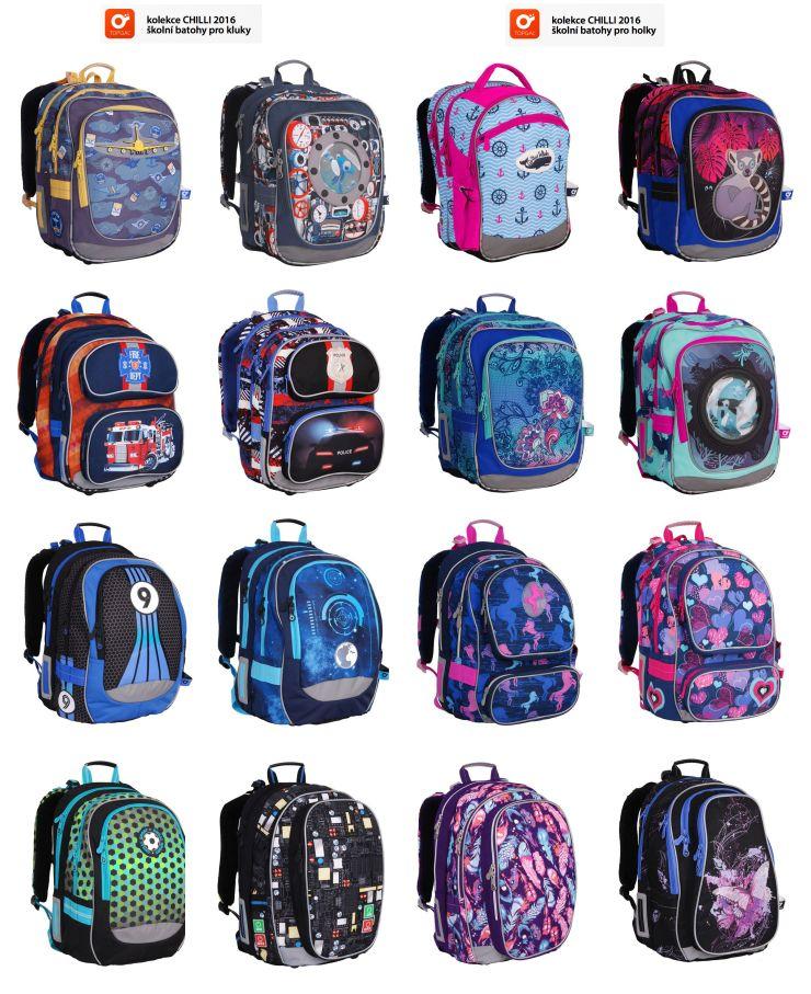 6936b700762 Batohy Topgal kolekcia 2016