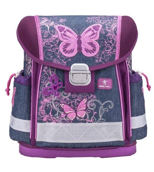 Školní batoh Belmil 403-13 Purple Flying Butterfly+ doprava a potřeby  Koh-i- ... ef65d887c4