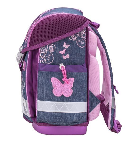 ... Školní batoh Belmil 403-13 Purple Flying Butterfly - SET + doprava a  potřeby Koh ... 8b248a367c