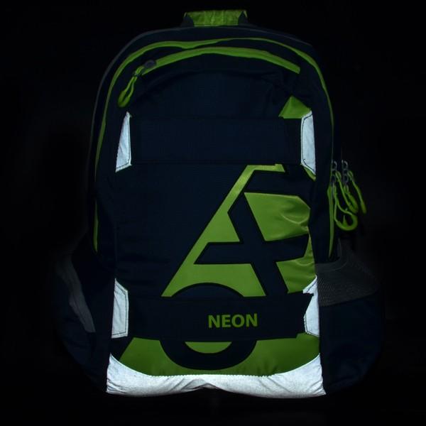 ... Studentský batoh OXY Sport Neon Dark Blue 211d103b79
