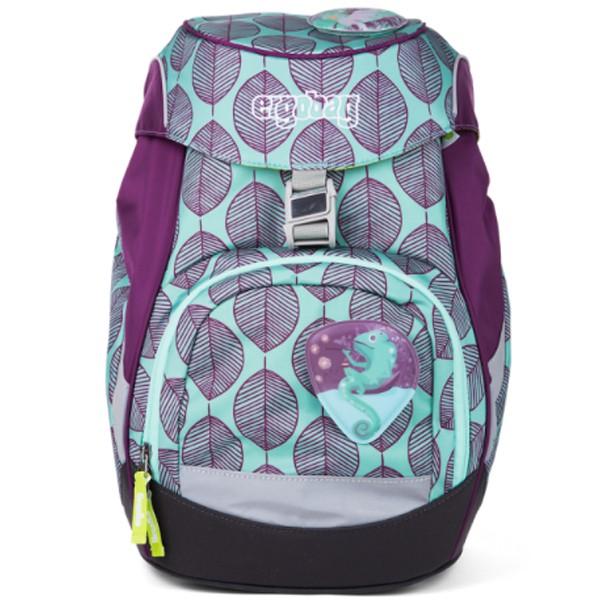 Školní batoh Ergobag prime fialovo zelený chameleon a doprava zdarma ... 6004fb6efa