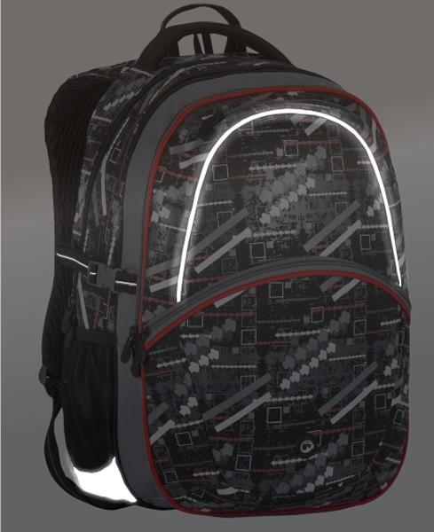d9d2046517 ... Školní (studentský) batoh Bagmaster MADISON 7 D + svítilna zdarma