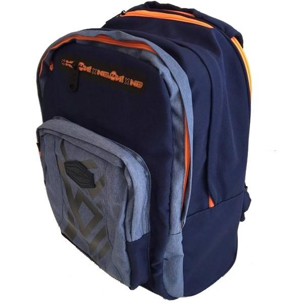0507e3f0780 ... Školní batoh NEON s výsuvnými kolečky modrý ...