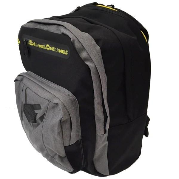 ... Školní batoh NEON s výsuvnými kolečky černý ... a04c6bda55