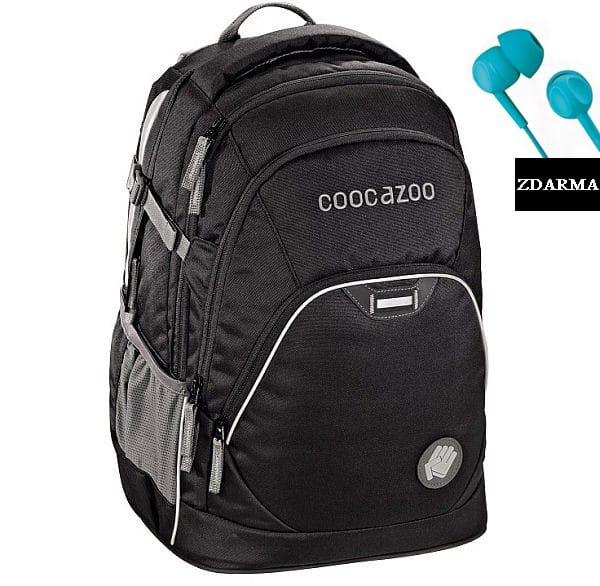 Školní batoh Coocazoo EvverClevver2, Beautiful Black