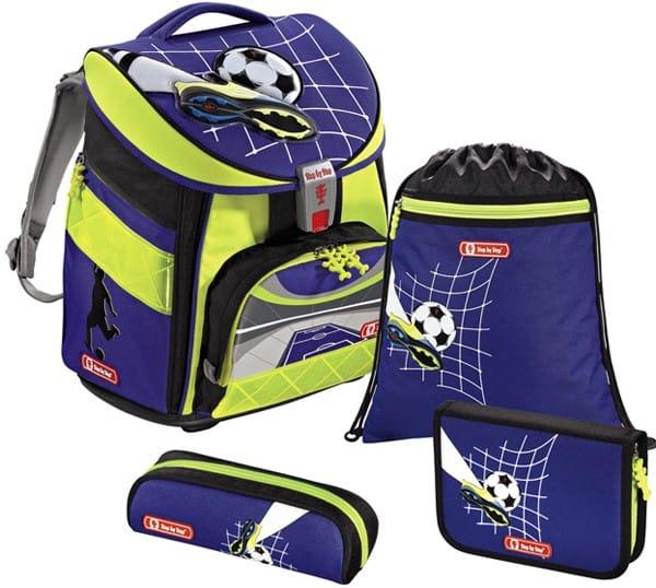 Školní batoh Hama Step by Step COMFORT DIN Top Soccer - set