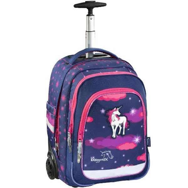Školní batoh Baggymax Trolley, Unicorn Dream