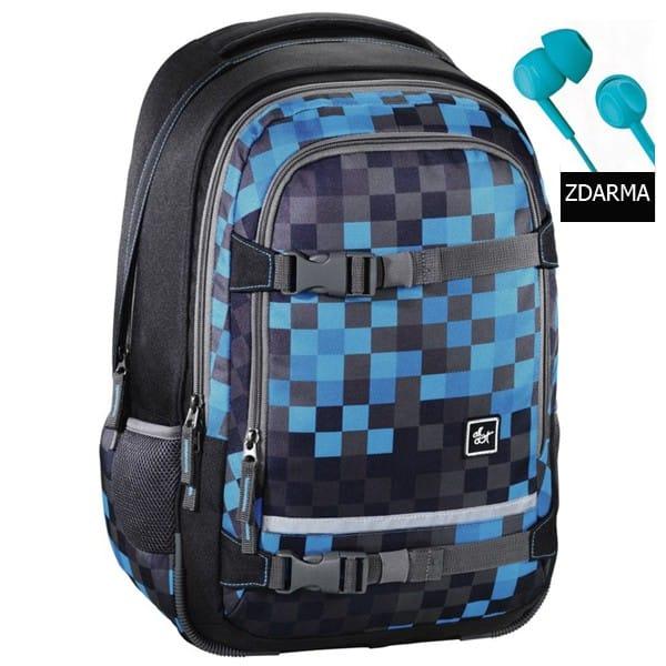 """Školní batoh All Out """"Selby"""", Blue Pixel"""