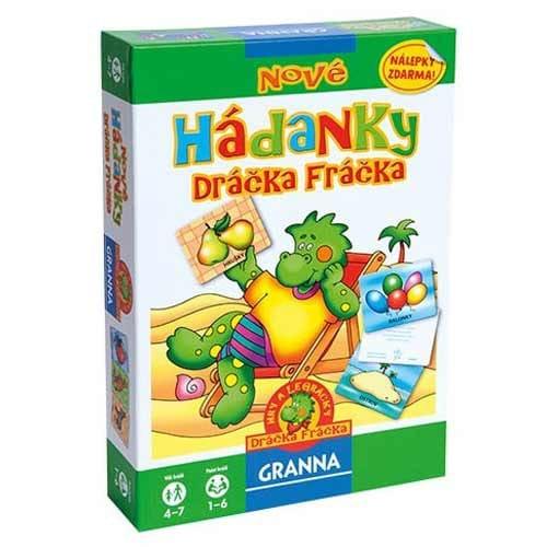 Granna Hádanky Dráčka Fráčka dětská stolní hra