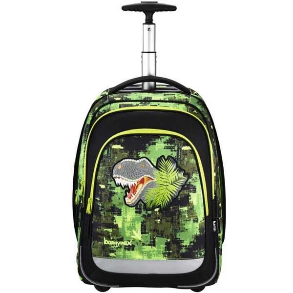 Školní batoh Baggymax Trolley, Dino