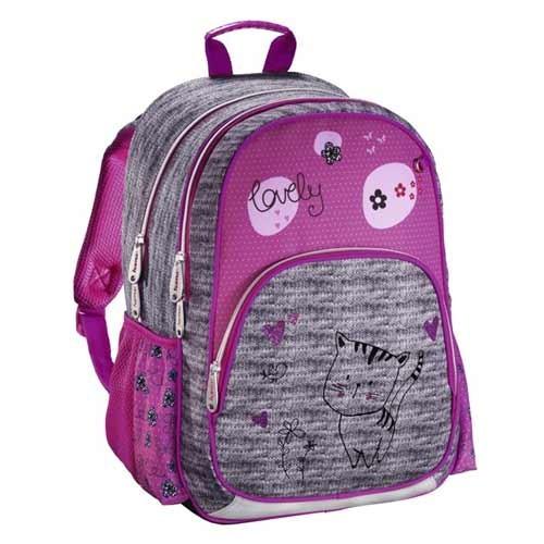Kvalitní školní batohy a aktovky v motivu kočky  1417d90630