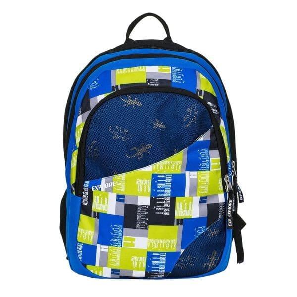 7a1a223ff9 Školní batoh EXPLORE DANIEL Mix yellow 2 v 1