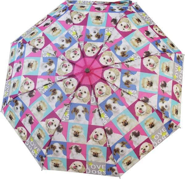 Deštník Psi skládací
