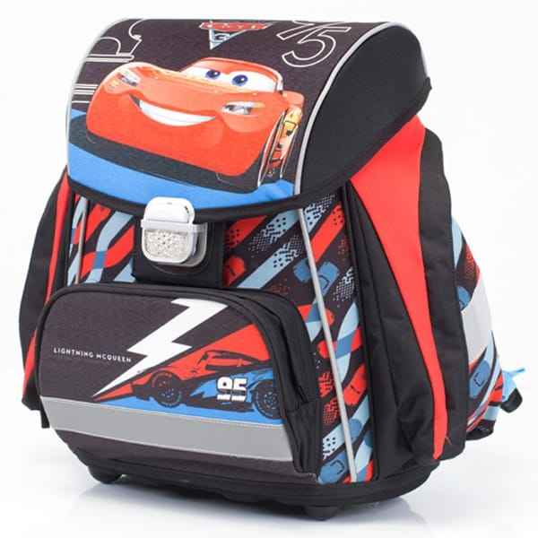 c83bec9f17 Kvalitní školní aktovky a batohy pro prvňáčky v motivu Cars ...