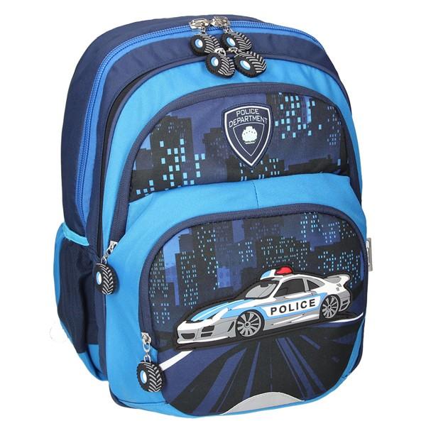 dcd0e4e20f2 Školní batoh SPIRIT Kids Policie