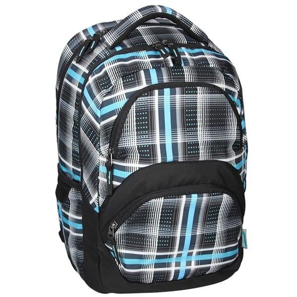 SPIRIT batoh FREEDOM 06 černá Studentský dvoukomorový batoh