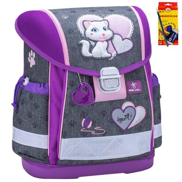Školní batoh Belmil 403-13 Anna Pet Caty + doprava a potřeby Koh-i-noor ZDARMA