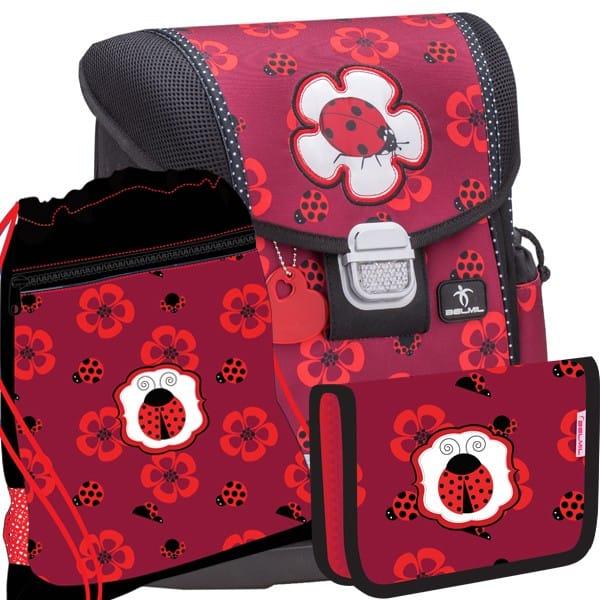 Školní batoh Belmil 403-13 Ladybug SET+ doprava a potřeby Koh-i-noor ZDARMA