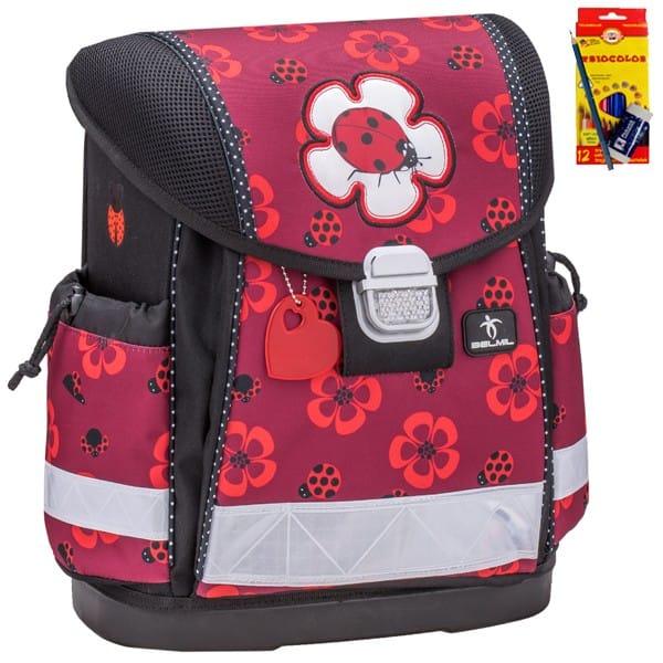 Školní batoh Belmil 403-13 Ladybug + doprava a potřeby Koh-i-noor ZDARMA