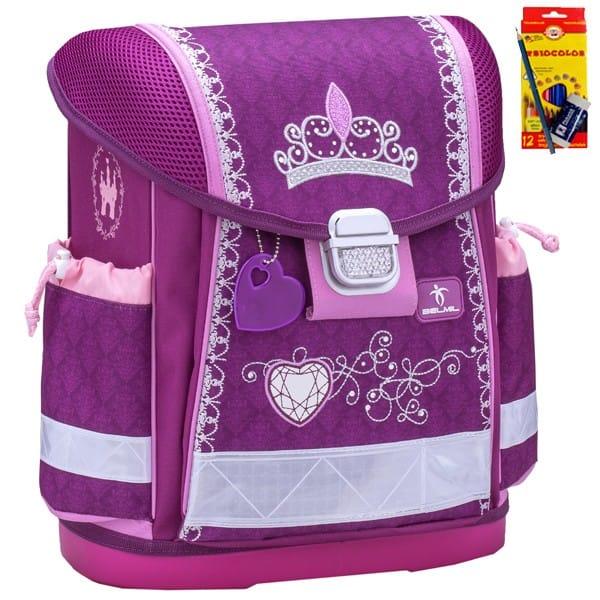 Školní batoh Belmil 403-13 Little Princess + potřeby Koh-i-noor a doprava  zdarma 6f24ca2a87