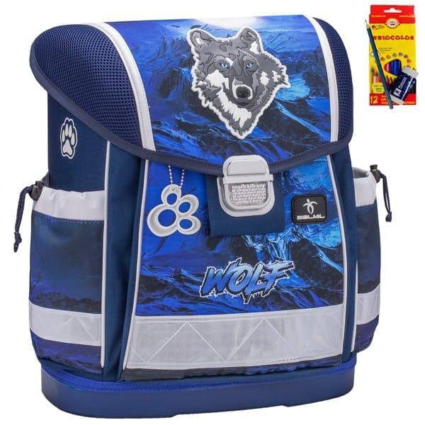 Školní batoh Belmil 403-13 Lumi Wolf+ doprava a potřeby Koh-i-noor ZDARMA