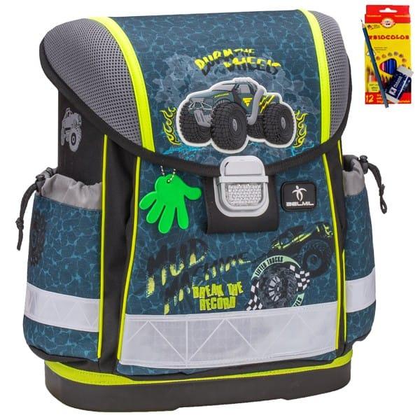 Školní batoh Belmil 403-13 Mud Machine + doprava a potreby Koh-i- 9b70556cfc