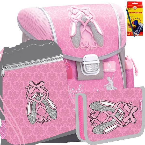 Školní batoh Belmil 403-13 Prima Ballerina - SET + doprava a potřeby Koh-i-noor zdarma