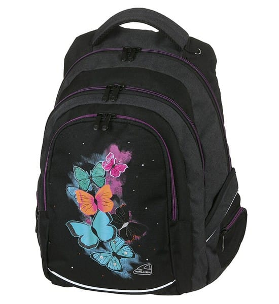 Walker studentský batoh Butterfly