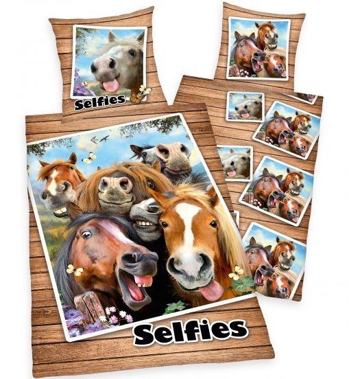 Povlečení koně selfie