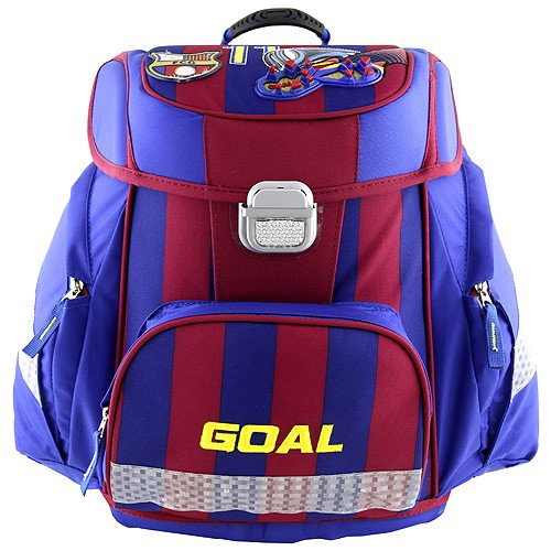 Školní aktovka Target Goal modrý