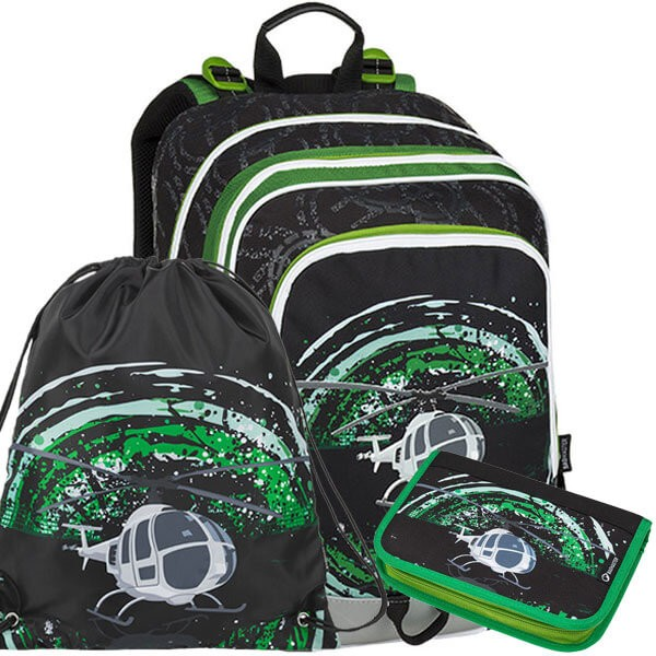 6e1b16bc06 Školní batoh Bagmaster ALFA 9 D SET a doprava zdarma