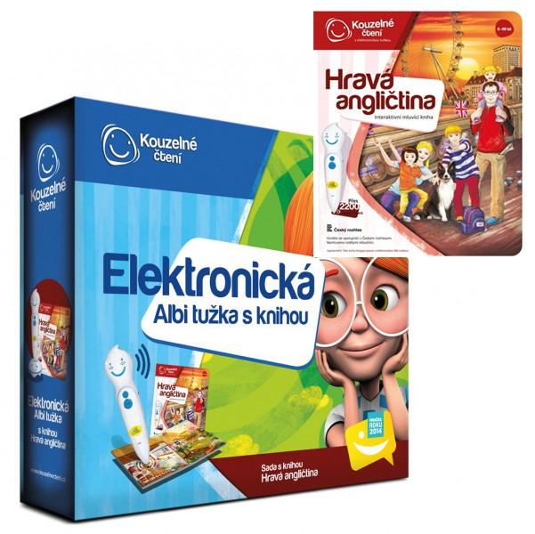 Albi Elektonická tužka s knihou Hravá angličtina interaktivní hračky