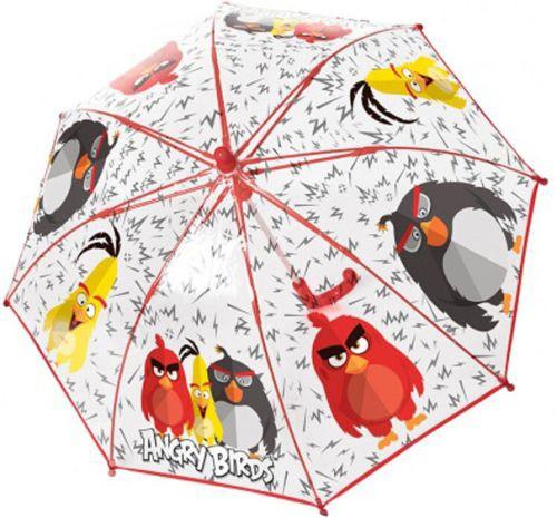 Deštník Angry Birds průhledný