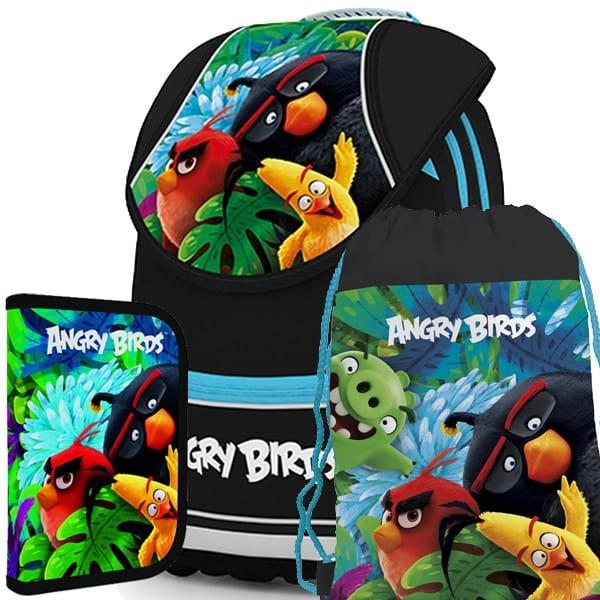 Školní anatomický batoh PLUS Angry Birds SET  edf3bca9cb