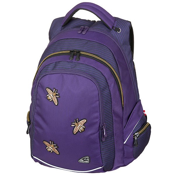 Školní batoh Walker FAME Bee Violet