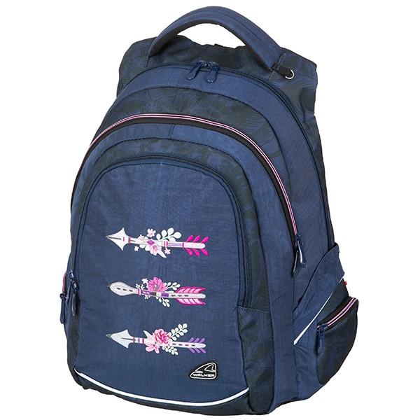 a2a4c806240 Školní batoh Walker FAME Arrow Blue