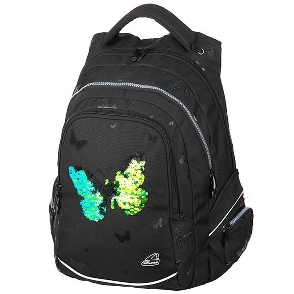 Školní batoh Walker FAME Sparkling Butterfly ce7c09ca2a