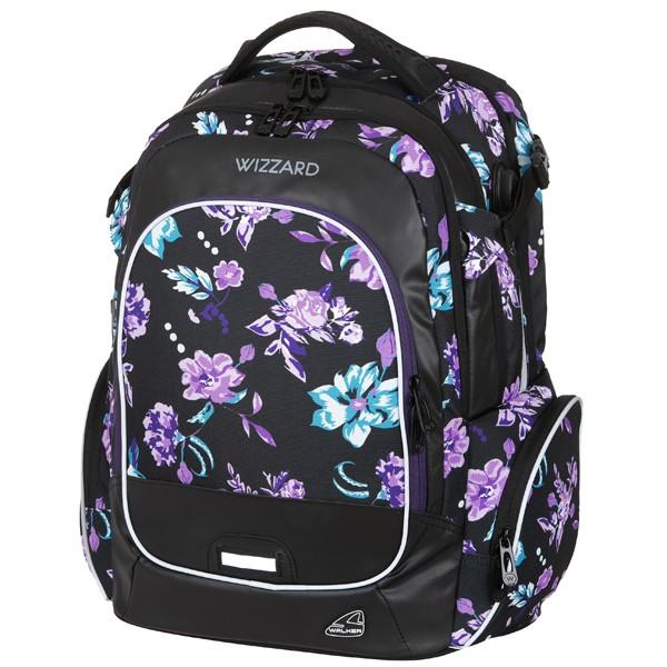 Studentský batoh Walker Wizzard Flower Violet