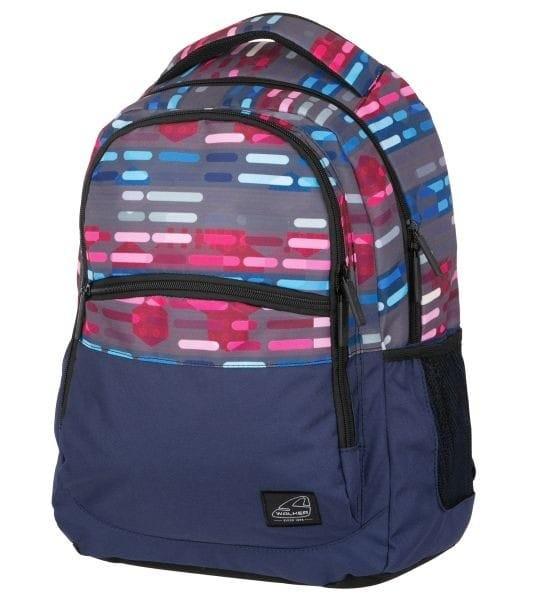 Batoh Walker CLASSIC Lines Blue Pink