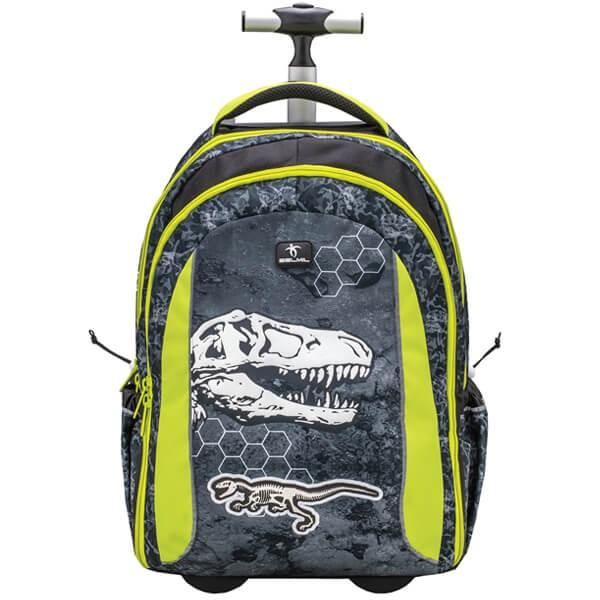 Školní batoh Belmil 338-45 T-rex na kolečkách