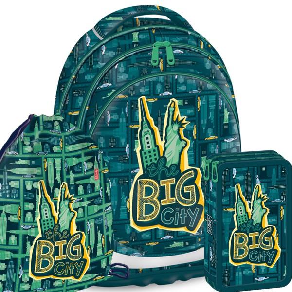 Školní batoh Ars Una Big City - SET