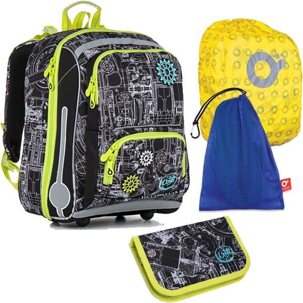 Topgal školní batoh pro prvňáčky sada pro školáka CHI 785 A SET LARGE