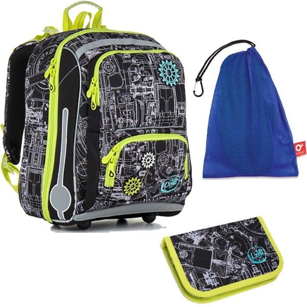 af650e9df6d Topgal školní batoh pro prvňáčky sada pro školáka CHI 785 A SET MEDIUM