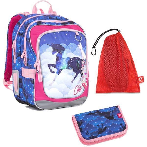7ef225c4528 Školní batoh Topgal CHI 843 D SET MEDIUM a dopravné zdarma