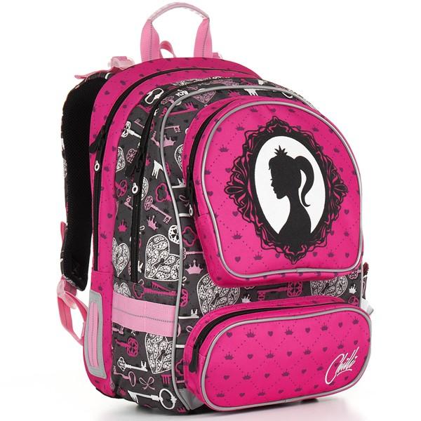 Topgal školní batoh CHI 875 H - Pink